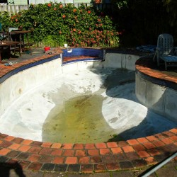 Pleasure Pool Before