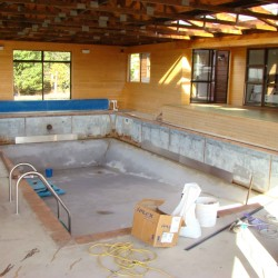 Cascade Pool Before