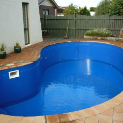 Fibreglass Pool After